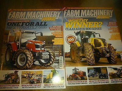 farm Machinery magazine issues 1and 2