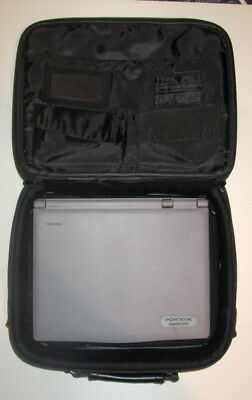 Toshiba Portege 660CDT Laptop with Case and FDD Drive.