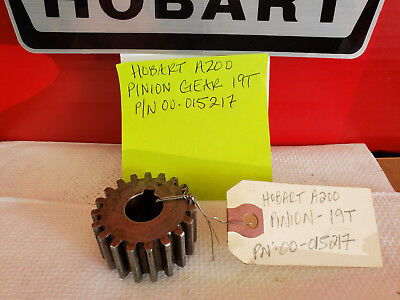 HOBART 20 Qt Mixer Parts A200 Pinion Gear 19 Tooth