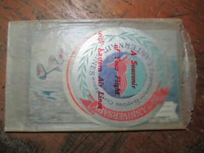 Eastern Airlines Souvenier Package 3 Aircraft Postcards 2 Stickers