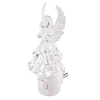 Color Changing Angel Night Light Wall Plug In