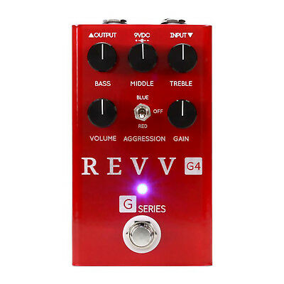 Revv Amplification G4 Distortion & Overdrive Pedal