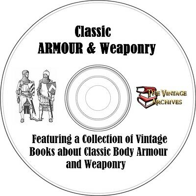 Classic Armour & Weaponry Vintage Book Collection on CD
