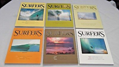 Surfer's Journal Volume 19 Number Issues 1, 2, 3, 4, 5, 6  2010 Mags  FREE SH