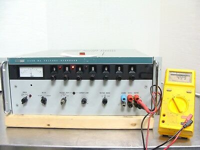 Fluke Model 332D Voltage Standard Calibrator 0 - 111.11110v Tested & Guaranteed!