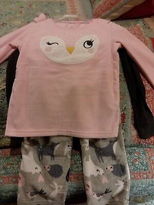 Carter's Girls 3 Pieces Set New Size 4t MSRP  $38