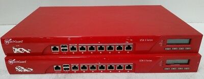 WatchGuard XTM 505 Series Firewall Appliance - 6 x 10/100/1000 Gigabit Port