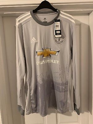 Manchester United Third Kit Shirt Medium RRP £50 Long Sleeve