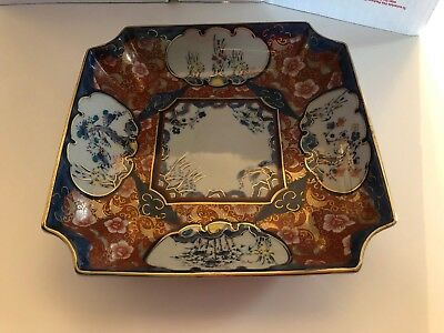 Vintage/antique Imperial Imari Japanese Hand Painted Platter Marked