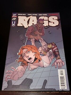 2019 RAGS #3 1st print cover A Antarctic Press sold out NM Near Mint Zombies