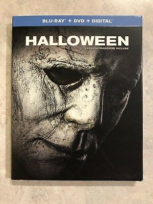 Halloween 2018 2019 Blu Ray & DVD w Slip Cover Canada Bilingual LOOK Jamie Lee