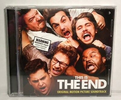 This Is The End Original Motion Picture Soundtrack CD, OST, Like New