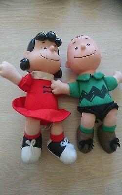 Charlie Brown Collectables Lucy and Charlie Brown 1990s McDonalds Toys