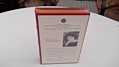 Mary McGarry Morris Dangerous Woman Franklin Signed First Edition NEW FREE S/H