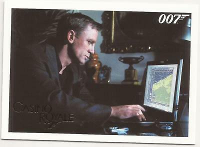 2014 James Bond Gold Parallel 007 Archives Insert Casino Royale 018 18 /125