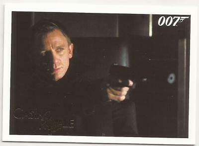 2014 James Bond Gold Parallel 007 Archives Insert Casino Royale 004 4 /125