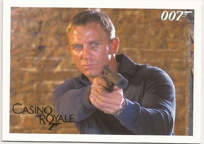 2014 James Bond Gold Parallel 007 Archives Insert Casino Royale 091 91 /125