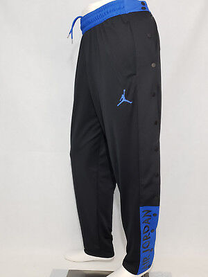 b51ce2280c740b Air Jordan Snap Tear Break Away Basketball Pants Black Dri-Fit Mens XL Nike  NWT
