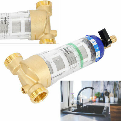 WHOLE HOUSE WATER Filter System UDF Carbon Manual Backwash
