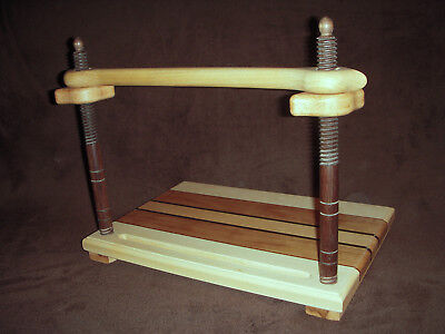 Bookbinding sewing frame, Victorian style, all wood book binding 1..........3058