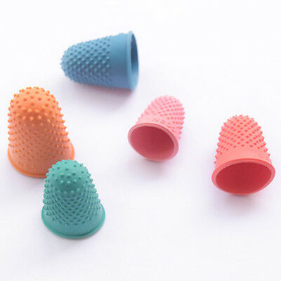 5-15X Needlework Protector Sewing Rubber Thimble Quilter Counting Finger Tip