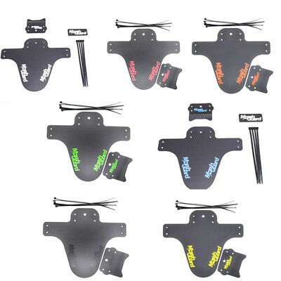 1Pair Bicycle Lightest Mtb Mud Guards Tire Tyre Mudguard For Bike Fenders RS