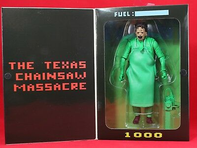 Neca The Texas Chainsaw Massacre Green Leatherface 7' Action Figure Video Game!!