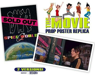 SpiceWorld The Movie (Spice Girls) Prop Replica Poster – EXCLUSIVE!