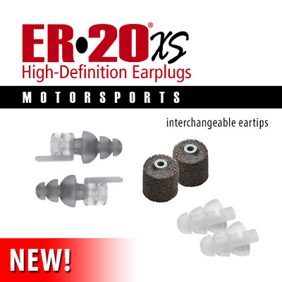New Etymotic ER20XS MOTORSPORTS High Definition Ear Plugs