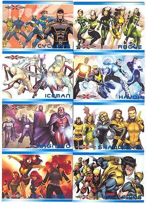 2014 Marvel 75th Anniversary XE1 - XE13 X-Men Evolution Card SET Of 13 Cards!