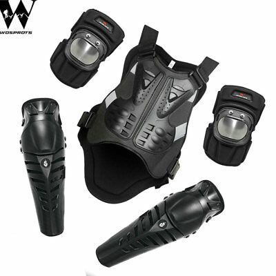 Motorbike Body Guard Armor Vest Elbow knee Gear Motocross Safe Chest protectors