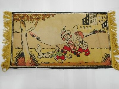 Original 1940-50S Ginger Meggs Australian Comic Strip / Cartoon Character Rug