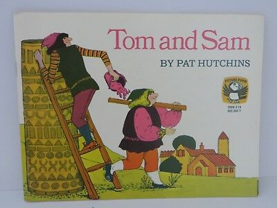 Tom and Sam By Pat Hutchins Puffin Books