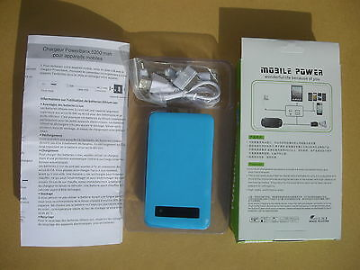 Power Bank 5200 mAh p/ Iphone - Galaxy - etc...