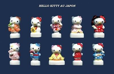 Serie Complete De Feves Hello Kitty Au Japon     2016