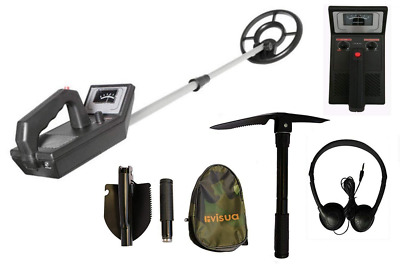 Beginners Discriminating Metal Detector (+ H/Phones Batts & Pick)