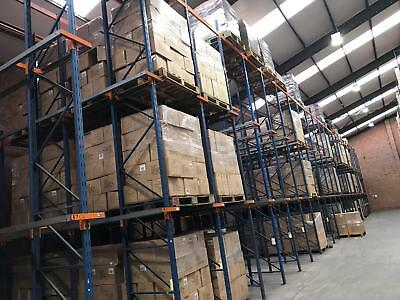 Drive-in Racking, Pallet Racking, Job Lot, 630 Pallet Locations, 50m x 5m area