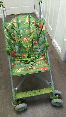 mothercare buggy green toddler