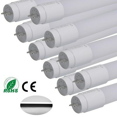 10/6/2x 18W T8 LED Nano Tube Light Lamp Replacement Fluorescent 4FT=120CM 2000LM