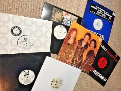 """Hip Hop Rap vinyl including SEALED 12"""" outstanding LOT of records"""