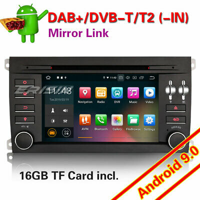 Android 8.1 Autoradio GPS NAVI DVD DAB+Bluetooth WIFI 4G RDS for Porsche Cayenne
