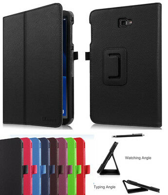 Leather Tablet Stand Flip Cover Case For Samsung Galaxy Tab A6 10.1 T580 T585