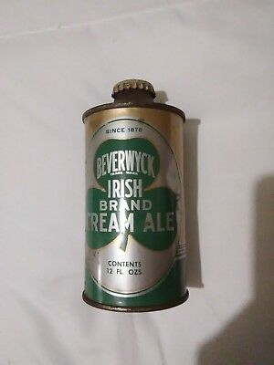 Rare Beverwyck Irish Branch Cream ALE Cone Top Beer Can