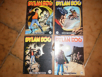 Dylan Dog  Sequenza 4 Numeri - Originale -Bonelli  - 20-21-22-23
