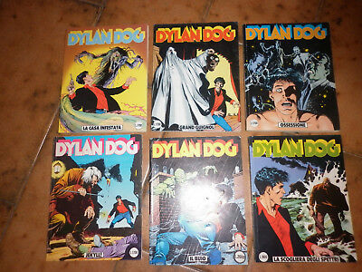Dylan Dog  Sequenza 6 Numeri - Originale -Bonelli  -30-31-32-33-34-35-