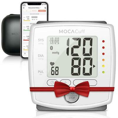 MOCACuff Bluetooth Wireless Automatic Blood Pressure Monitor FDA Approved Wrist