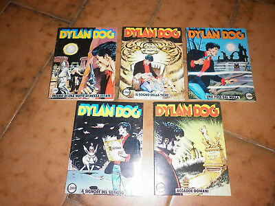 Dylan Dog -  Sequenza 5 Numeri - Originale -Bonelli  -36-37-38-39-40