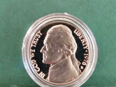 1976 United States Of America 5 Cent Proof In Brand New Capsule No Reserve