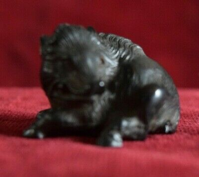 "Netsuke ""Wild Boar""  Faithfully reproduced.. from the Original Netsuke....."