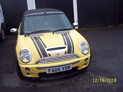 cars   mini cooper  petrol and gas  2005 covertable